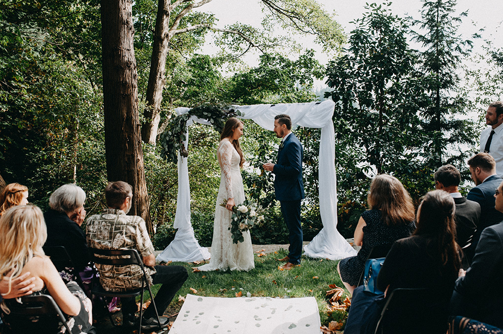 Vancouver intimate Wedding - Jayme Lang