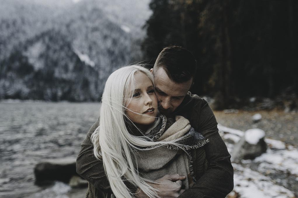 Vancouver Engagement Photographer outdoor adventure