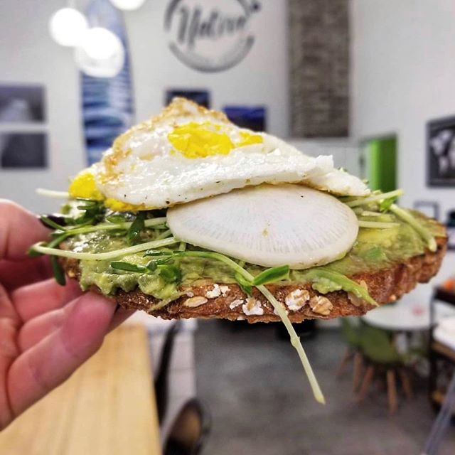 Our avocado toast is anything but basic 🥑 Drizzled with truffle oil, add an egg on top, and you'll be in heaven 🙌 . . 📸 @styleapothecary . . #veganfriendly #nhvegan #nhlocal #newhampshireeats #seacoasteats #cofeetime #kitchencafe #rynh #hamptonnh #veganfood #vegetarianoptions #instavegan #instagood #yumyumyum