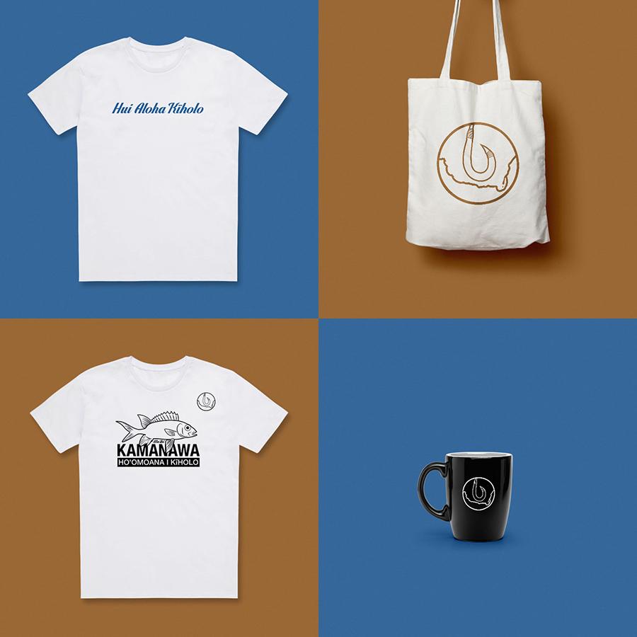 Kiholo merchandise
