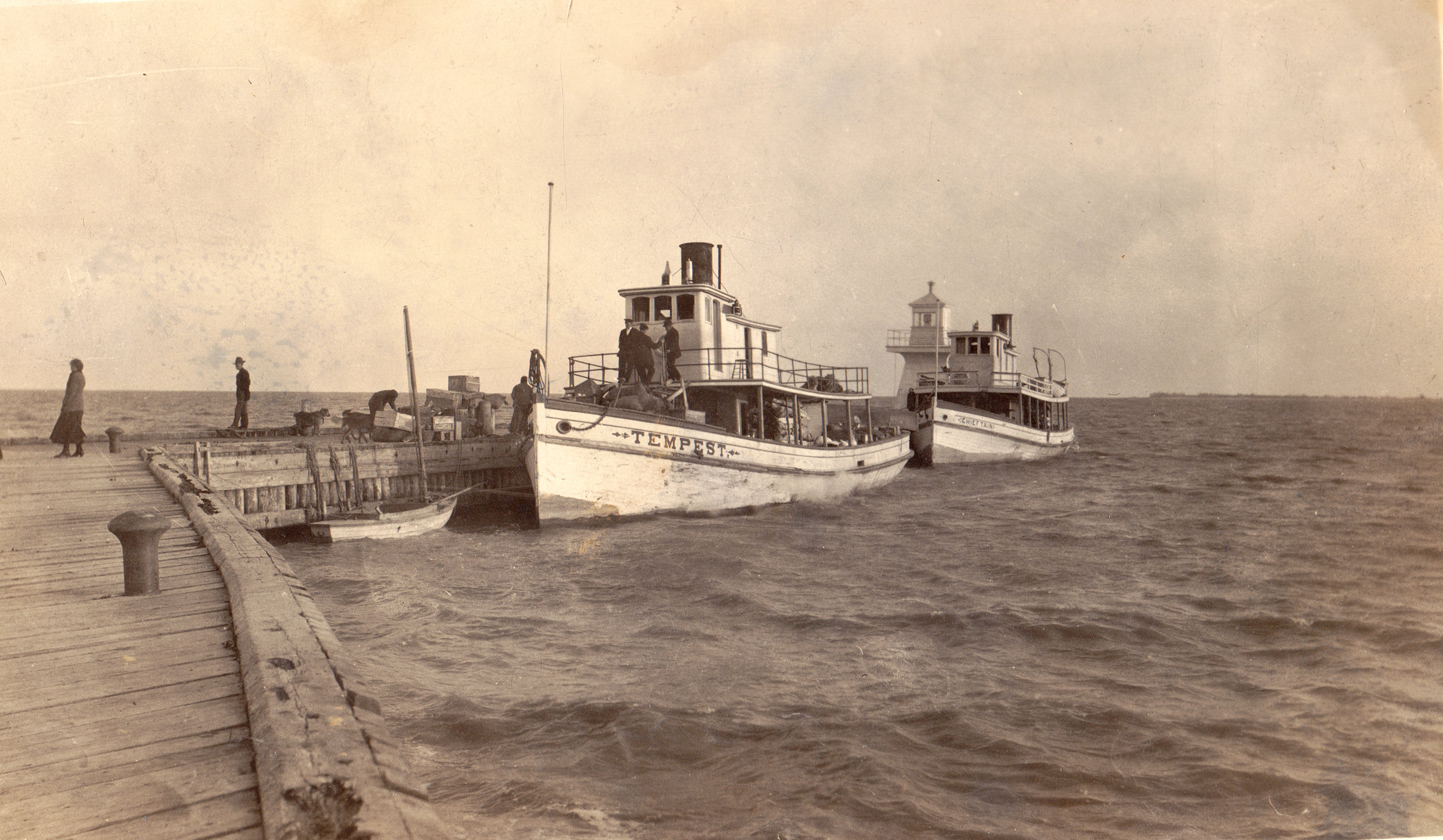 NIM - 43 Barney Peterson postcard - tugs - 1910s.jpg