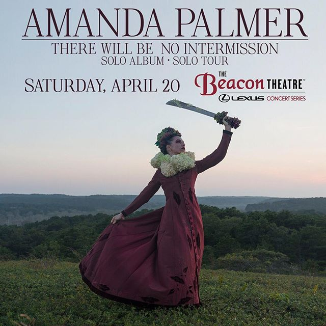 #Ad || Hey Friends! Listen up, Amanda Palmer brings her solo tour to the Beacon Theatre on Saturday, April 20 to support her new album ||THERE WILL BE NO INTERMISSION! • • • #Music #Concert #NYC #Musicians #AmandaPalmer #Soloist #Lexus #Brooklyn #BK #CityBearBK #Foodie #MusicLover