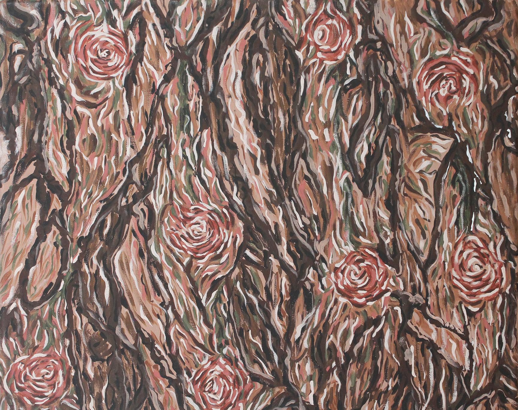 Abstraction of Bark - Acrylic