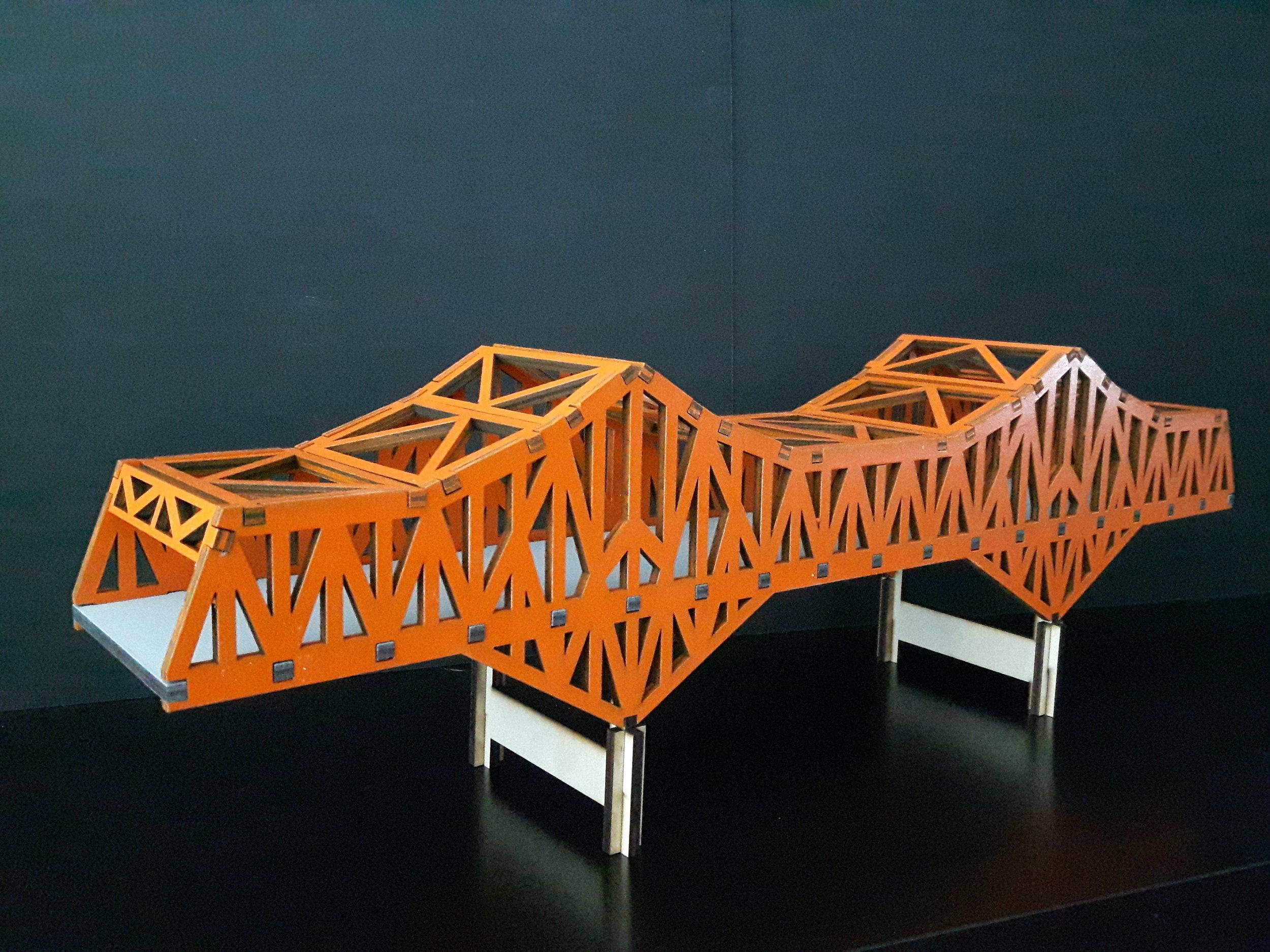 The big orange bridge of Nelson, BC. Also known as BOB.