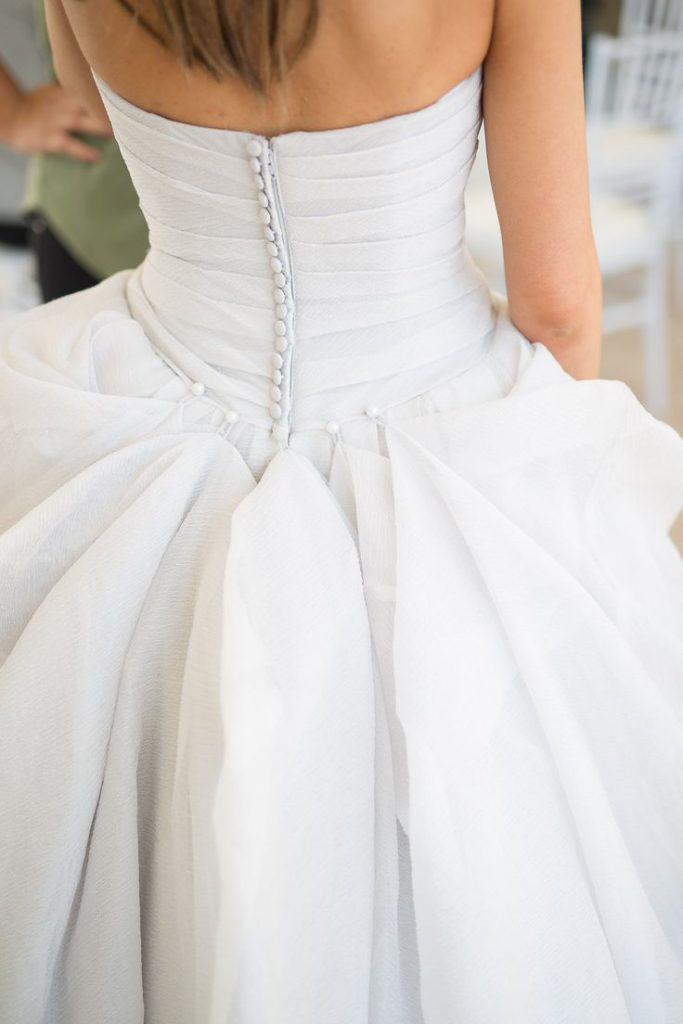 English bustle for a ballgown.