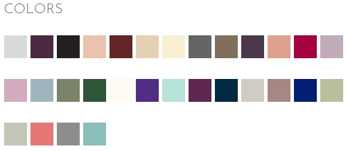 Pictured left to right in order of the drop down menu. Product colors may vary from colors shown on your monitor.