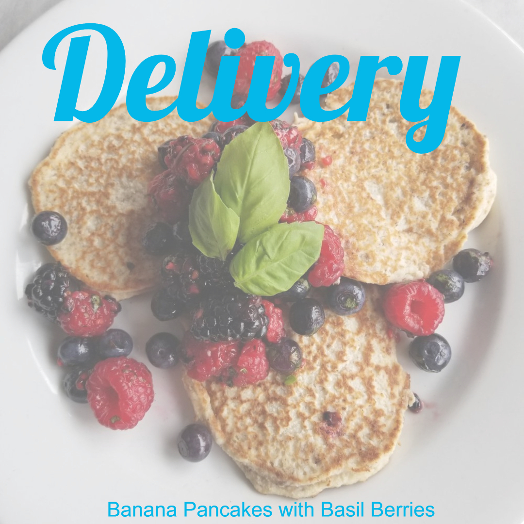 Chefs Prep - Banana pancakes with basil berries - w words.jpg
