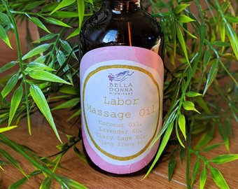 Labor Massage Oil - The Birth Lifesaver!We used the highest quality ingredients and purest essential oils to provide a smooth application to help you through every contraction!