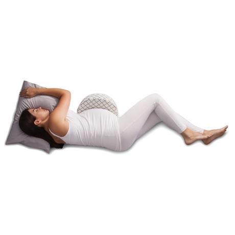 Pregnancy Wedge   This wedge is firm and inclined for optimal support. Compact and portable, giving you a good night of sleep anywhere you go.