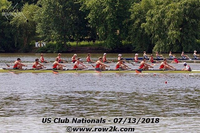 Don't be fooled by the unis but pacific rower Curtis came home with a 3rd place finish in the U19 8+ with Oakland Strokes!! 🔥🔥 #clubnatts2018 #medalz