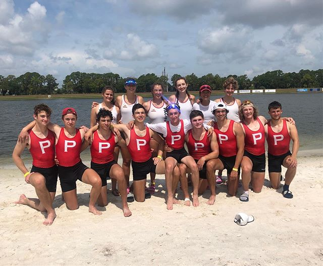 PRC (Petition Rowing Club???) Successful trip to Sarasota and definitely took some seats! #rememberthename •WV4+: 5th place!! •MV8+: 11th place!!