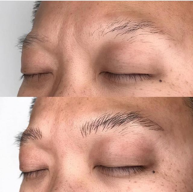 Microbladed boy brows done recently by @wesleycivilization ! Swipe to see them after their 2nd appointment 👉 . . .  #civilizationtattoo #richmondtattoo #tattoorva #rvatattoo #jacksonward #artdistrict #downtownrva #richmondvirginia #microblading #microbladedbrows #semipermanentmakeup #cosmetictattoo