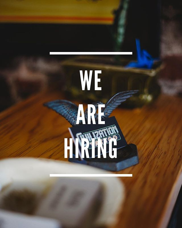 We are looking for a shop assistant who can work our normal hours 5 days a week, including weekends. Email or come by to drop off your resume!
