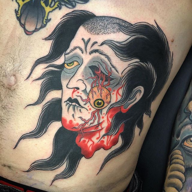 Namakubi done by @jasoncbrown. Stop by the shop or email to book your appointment.