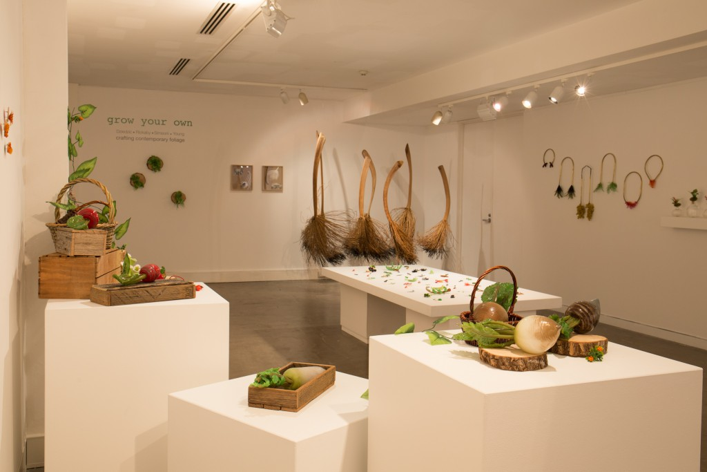 Installation view at Craft ACT