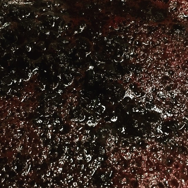 Crushing bilberries! #winery #bilberry #wine #westfjords #iceland #fruit #fruitwine