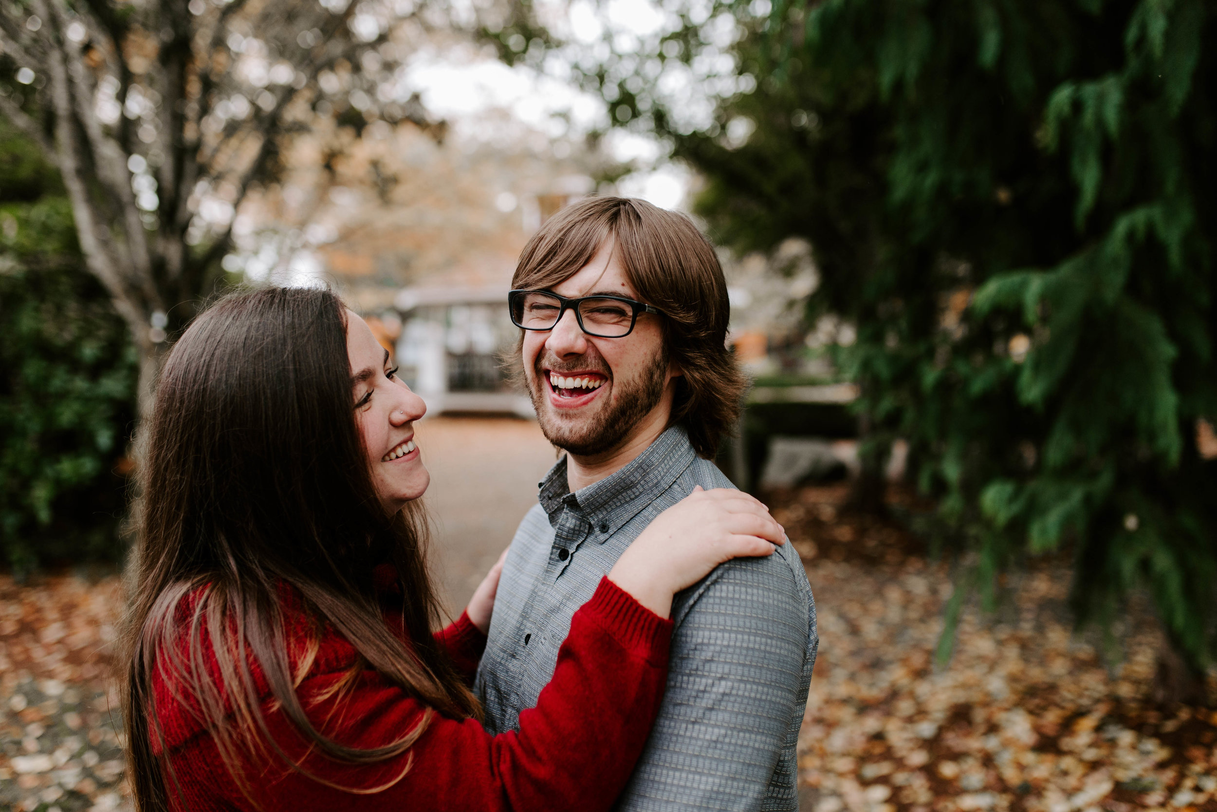 snohomish engagement photography