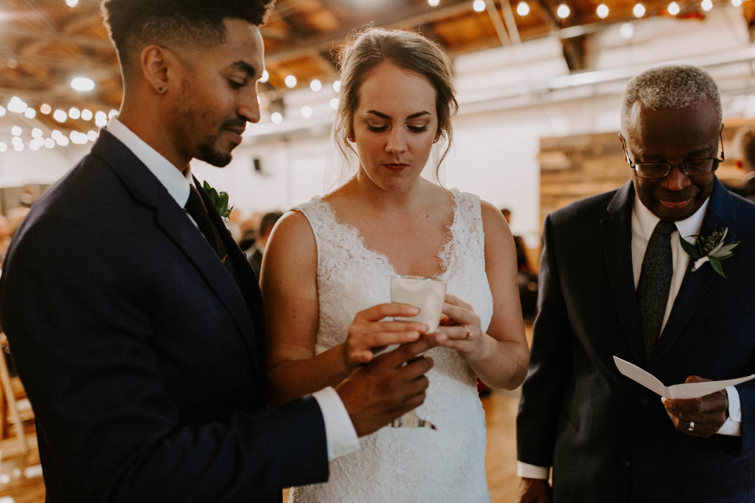 indoor seattle winter wedding photography communion