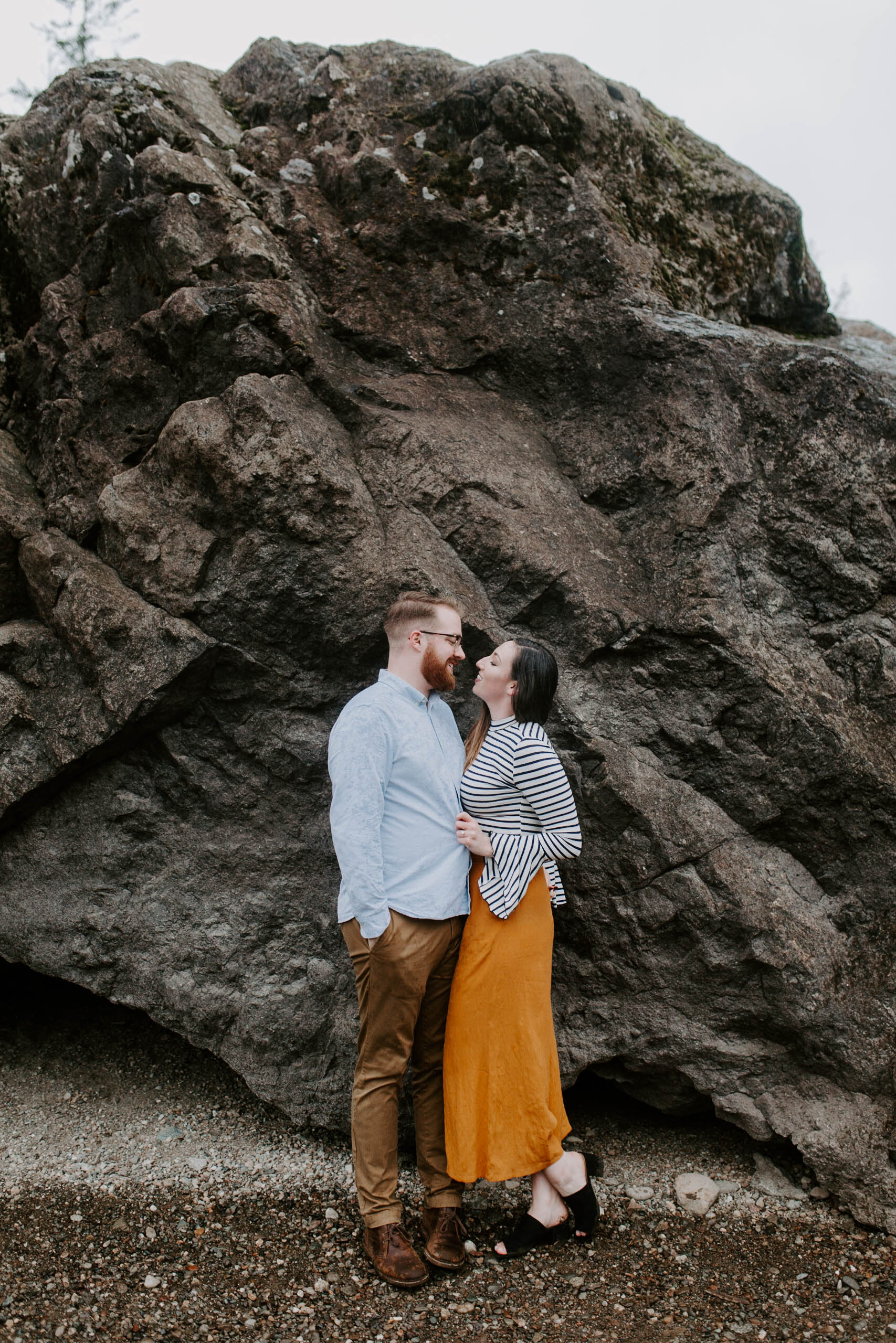 adventurous seattle photographer engagements