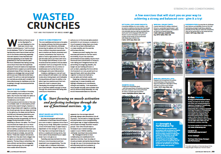 Wasted Crunches  -