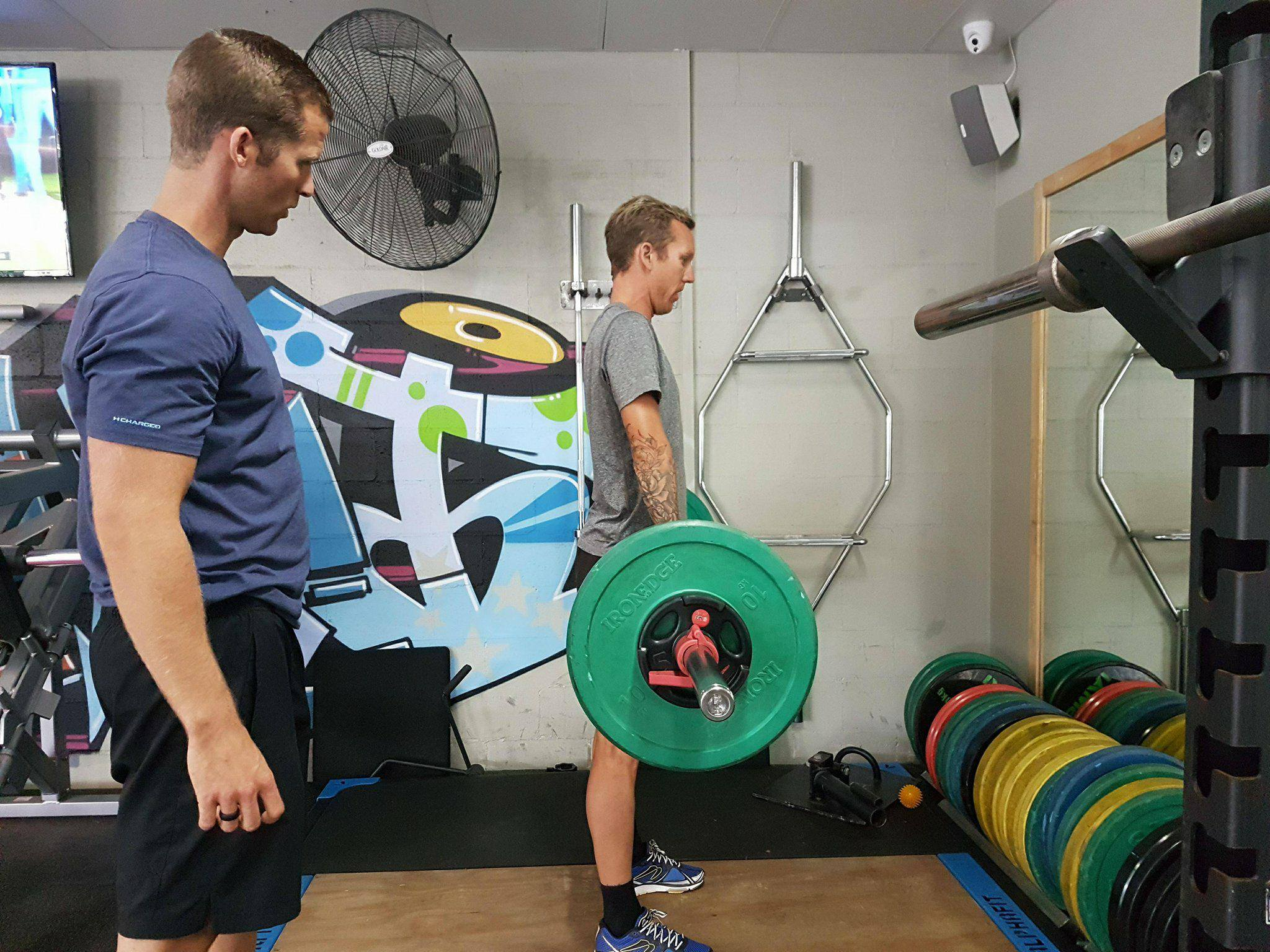 Kriss Hendy Training