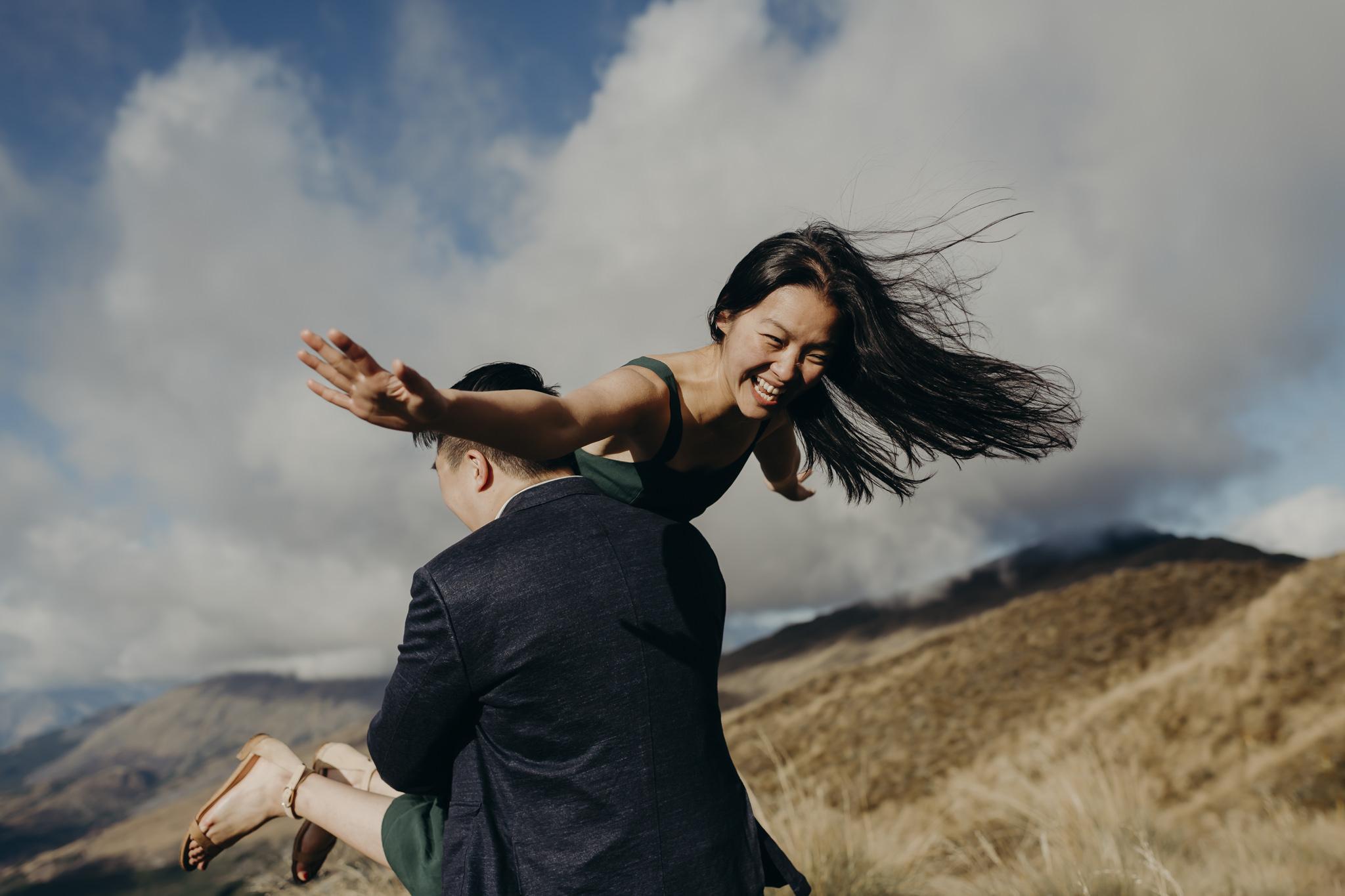 Keith & Suejing - Surprise Proposal Queenstown, New ZealandFebruary 2019