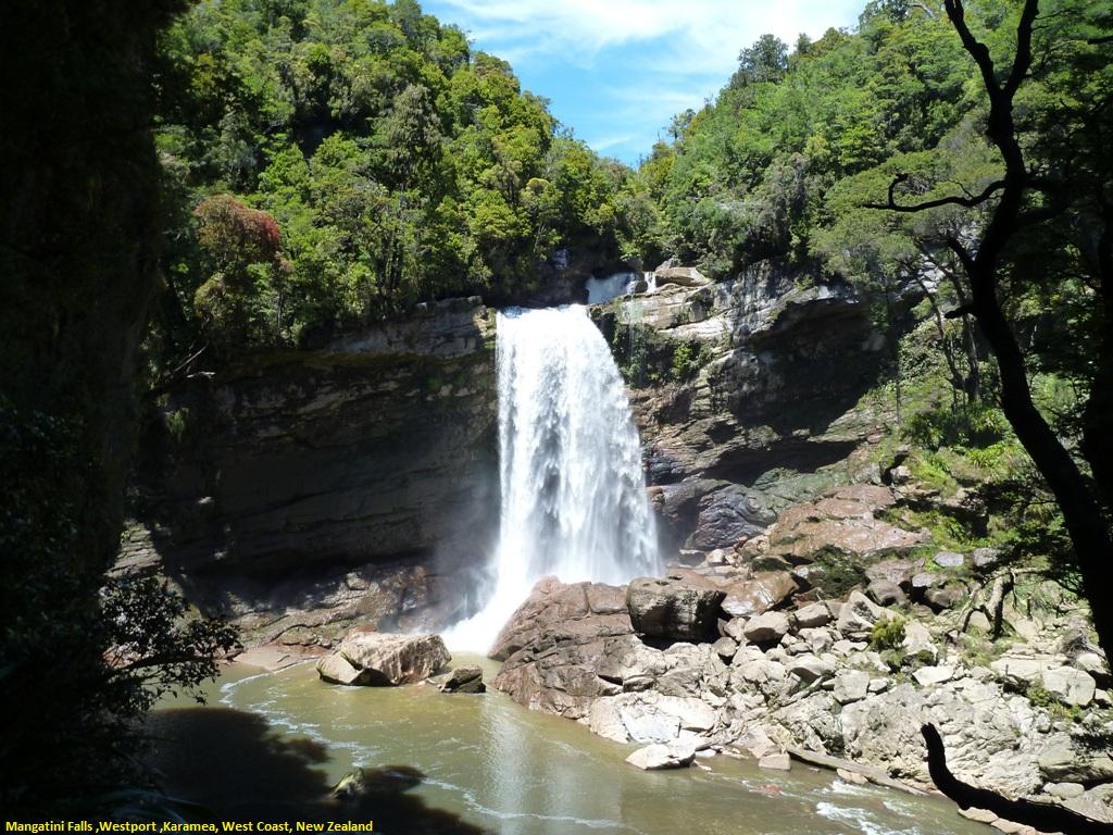 Mangatini Falls ,Westport ,Karamea, West Coast, New Zealand.png