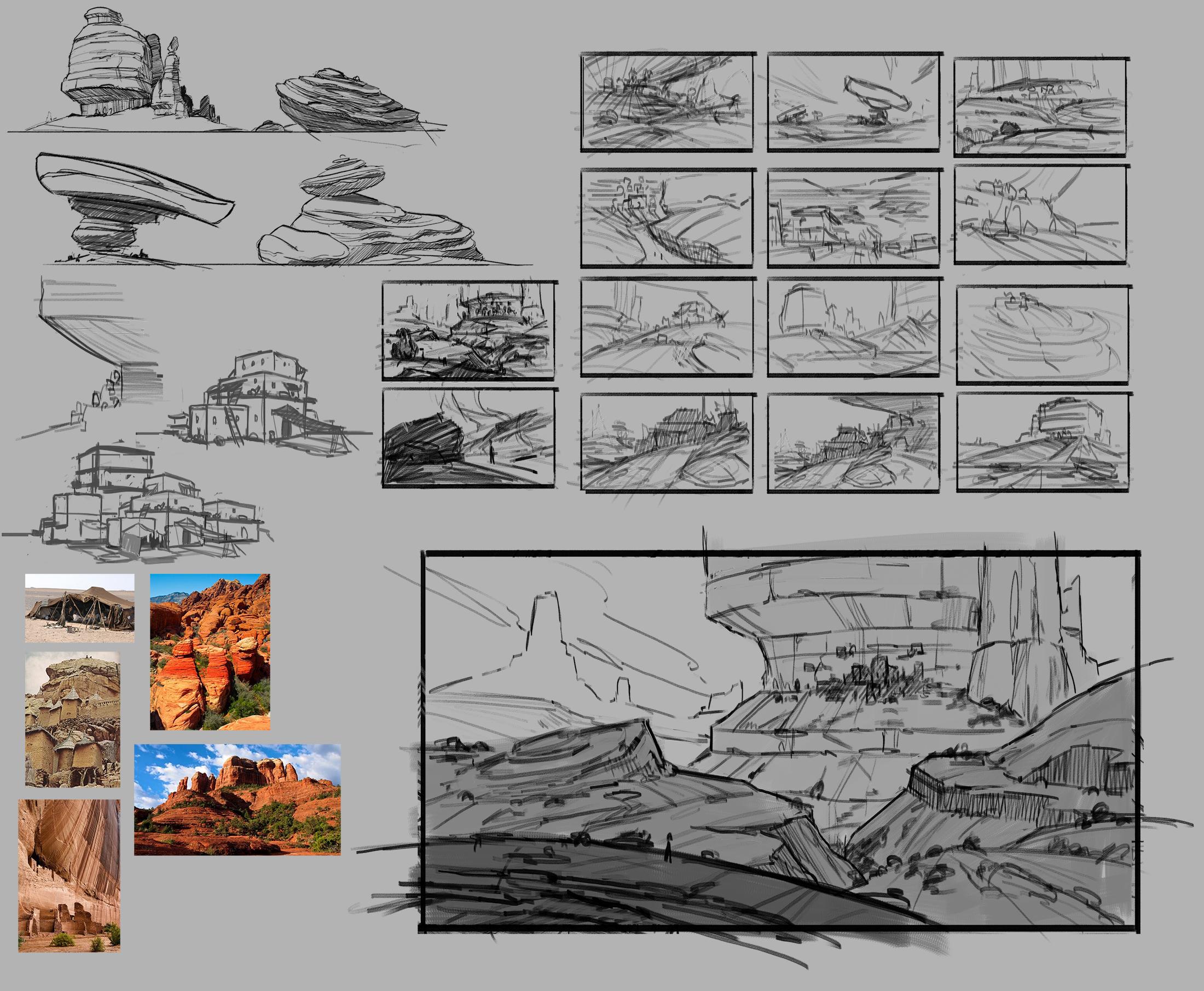 Desert Pueblo Sketches.jpg