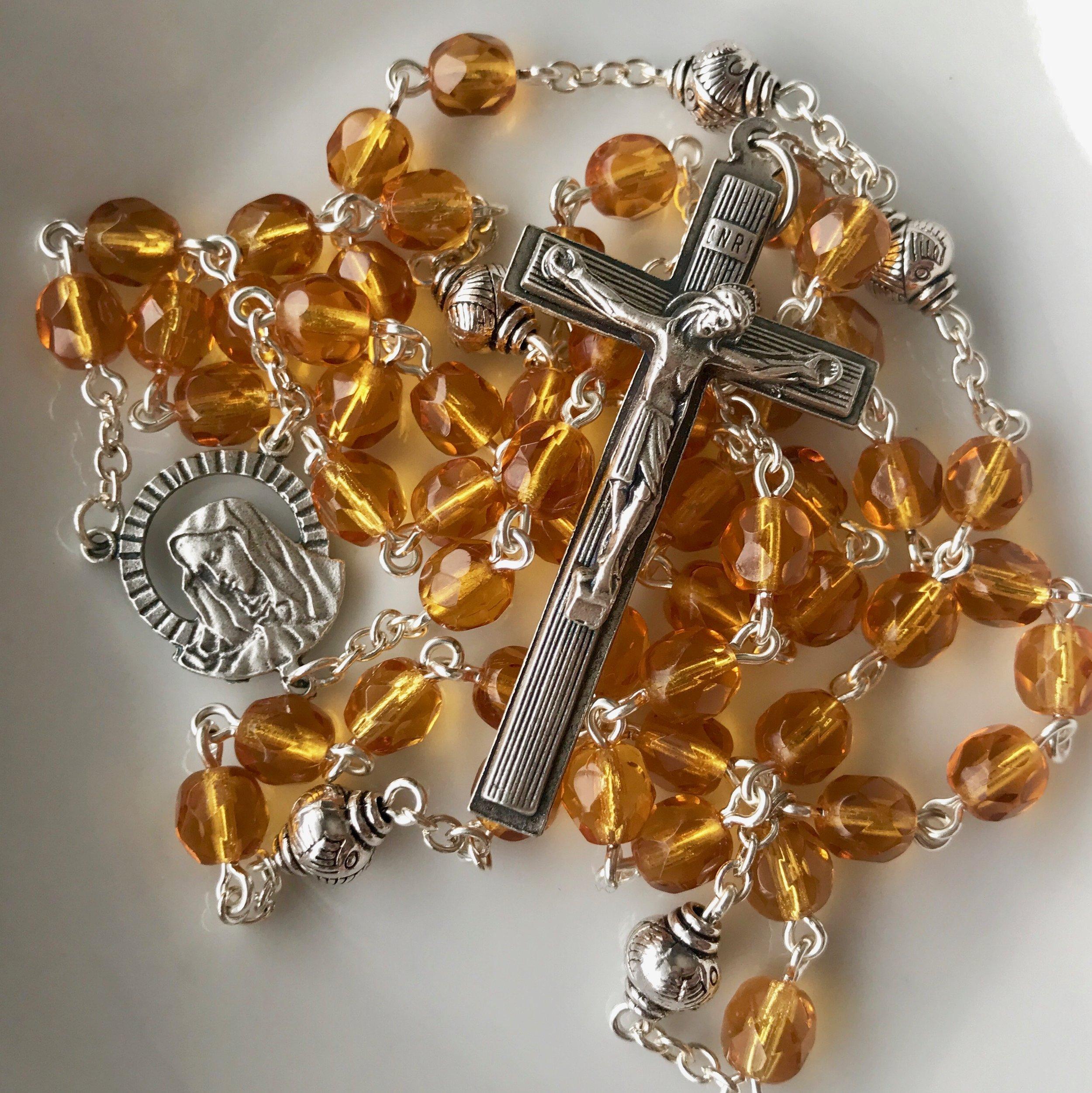 Seven Sorrows Rosary - $25