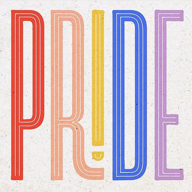 Happy #pride to our LGBTQIA+ members, friends, family, & partners! #ifyoucantloveyourself #howinthehellyougonnalovesomebodyelse