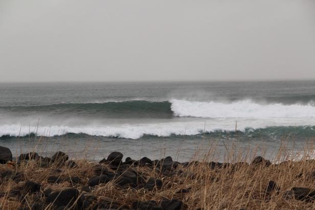 靠近雷克雅維克的浪點 Sandvik – Photo credit 蔡君平