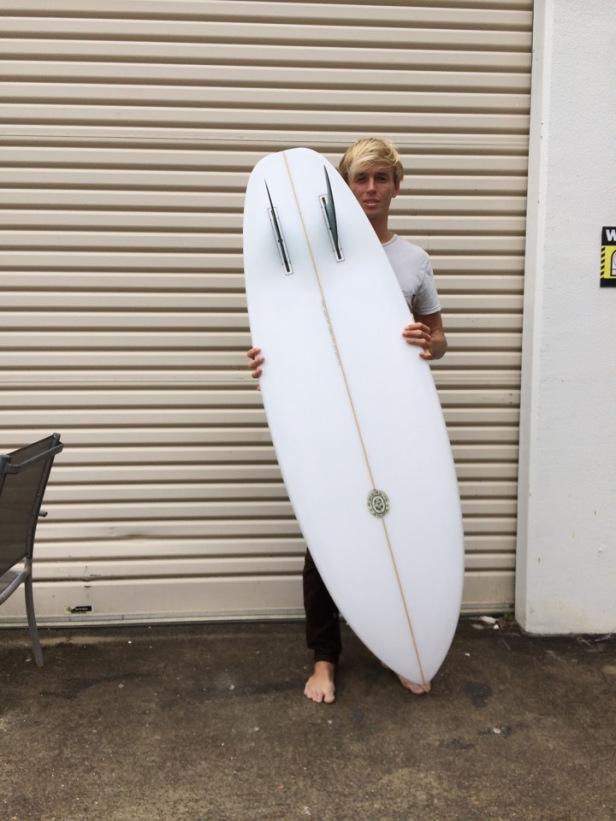 Neal Purchase Jr. 'Duo' Surfboard