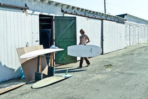 New board shaped by Ryan Lovelace. Photo by Unknown