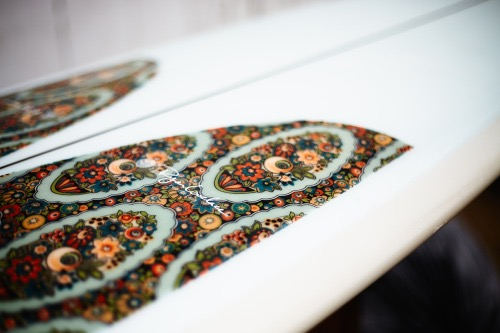 Fabric Inlay. Photo by Chris Delorenzo