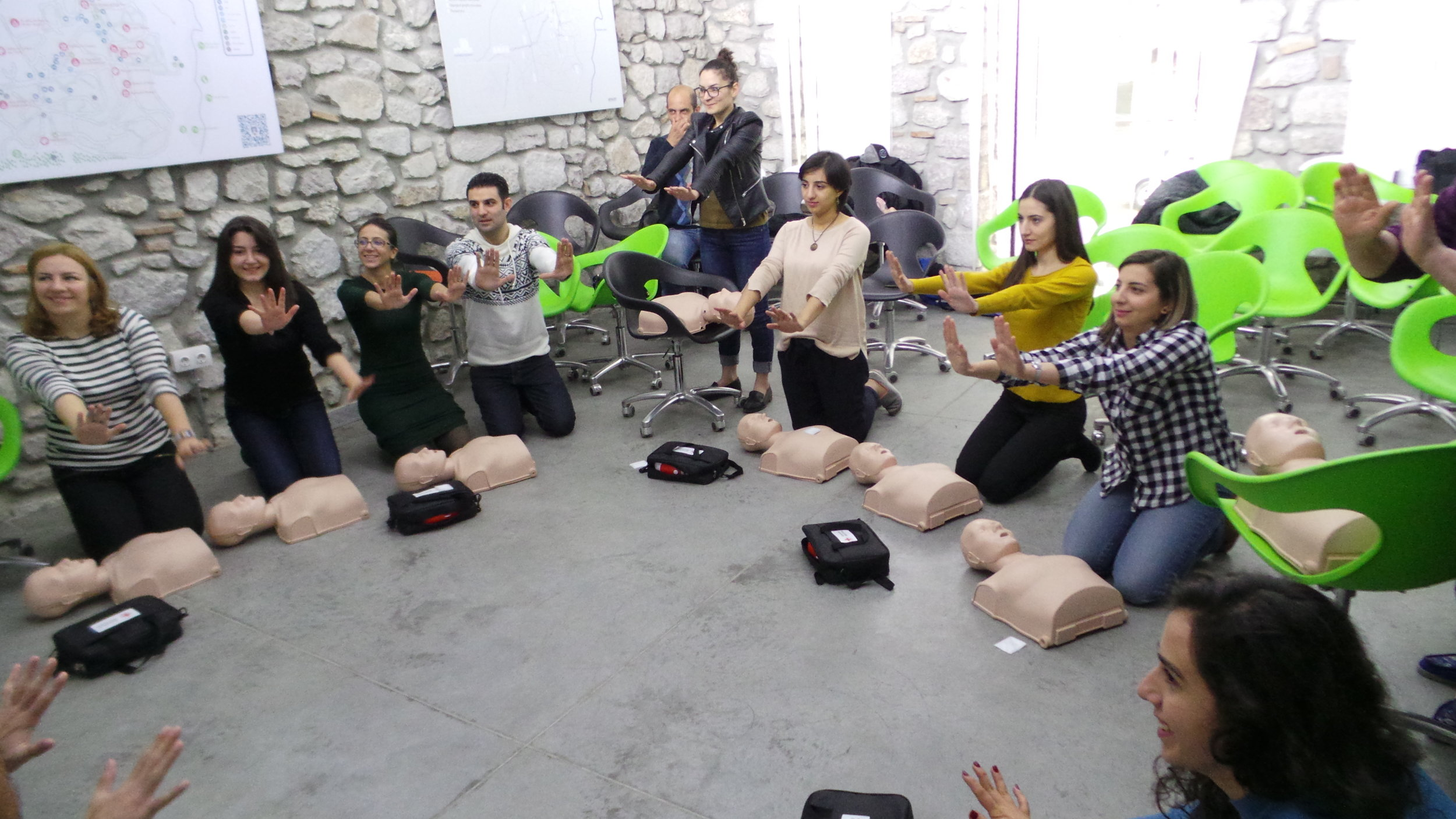 Since our training began in various cities in Armenia, more pediatric lives have been saved. -