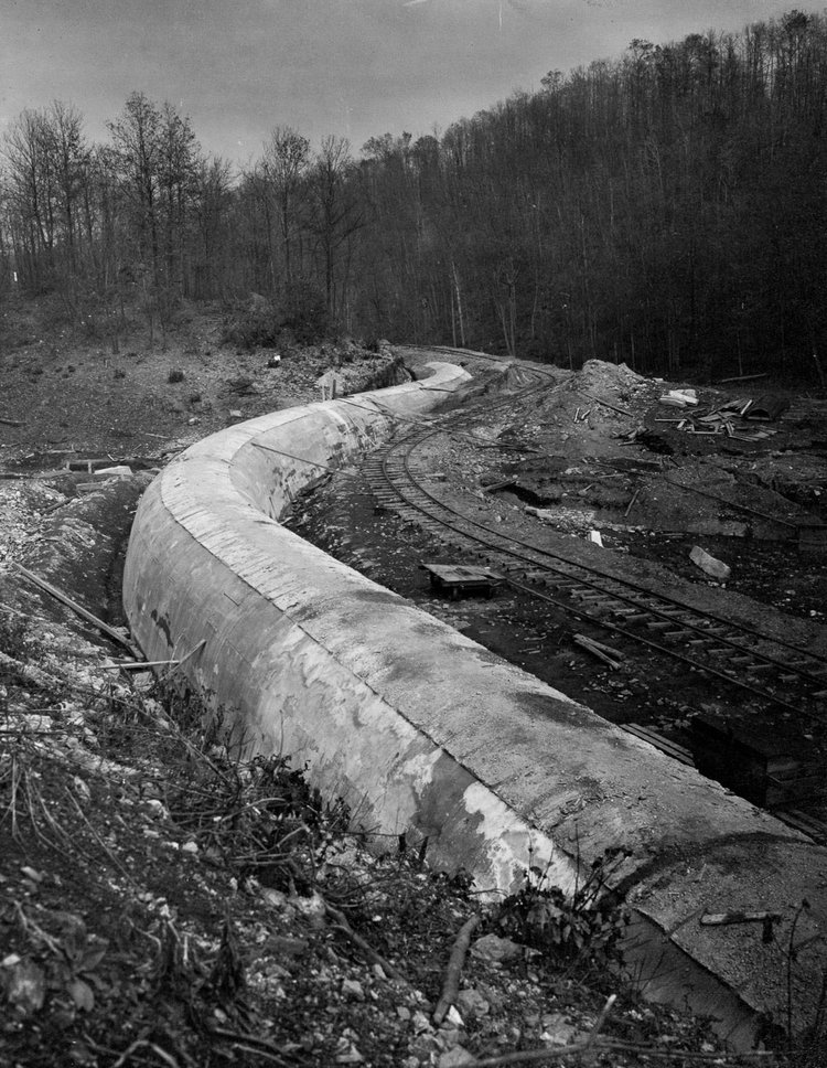 The Kensico Bypass Aqueduct, New York, 1910.
