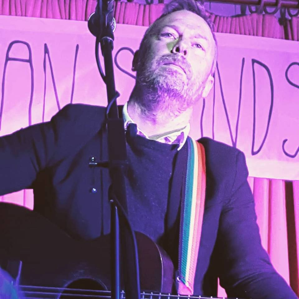 Mark Geary at  Subterranean Sounds , Waterford City. Sunday 18 March, 2018. Courtesy: Subterranean Sounds