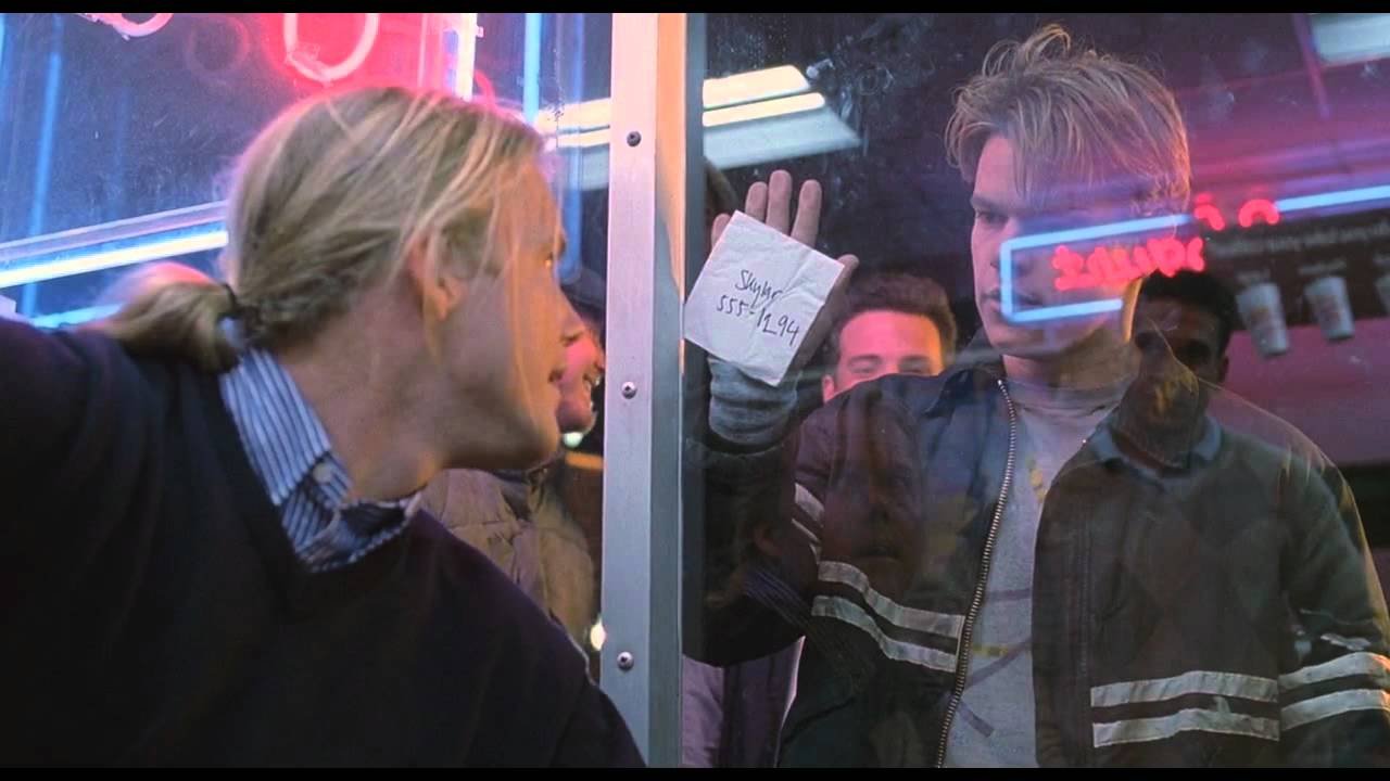 """Good Will Hunting  (1997) """"How do you like them apples."""""""