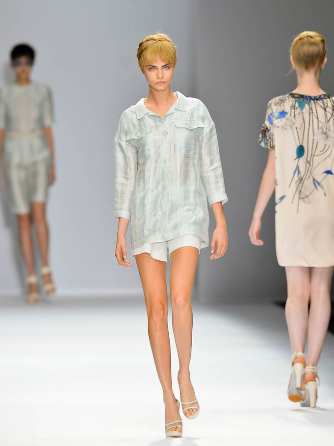 Cacharel fashion show, Spring-Summer 2013, under the artistic direction of Sun Dawei and Liu Ling