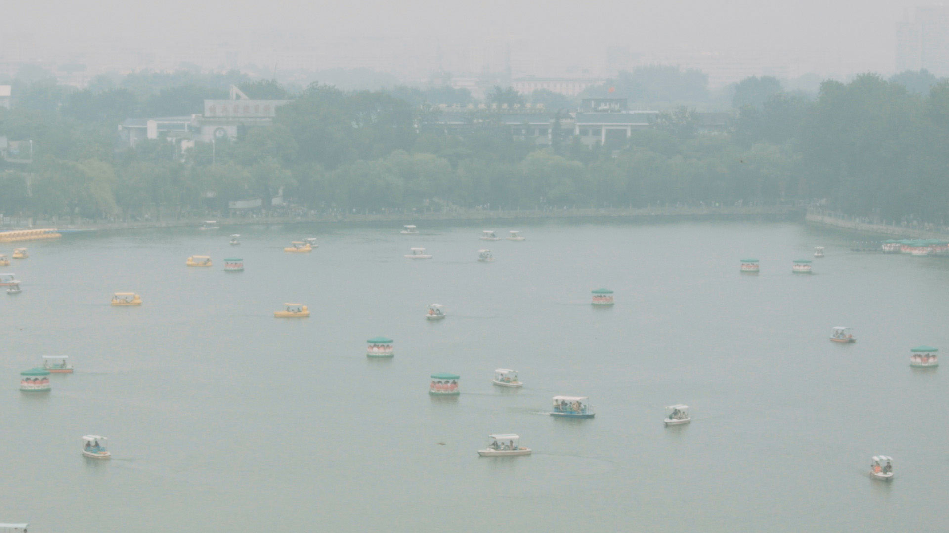 Su Jiehao,  Film Still from The Storm in the Morning , 2017-18. Single Channel Digital Film (FHD, color, stereo), duration: 17'45'' © Courtesy of the artist