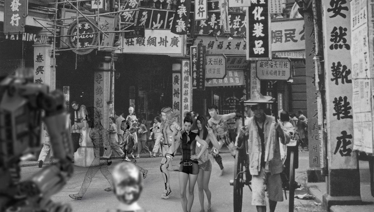 Lau Wai, Queens Road West 040 , 132 cm x 76 cm x 10 cm, Duratrans, LED steel lightbox, 2018 © Courtesy of the artist