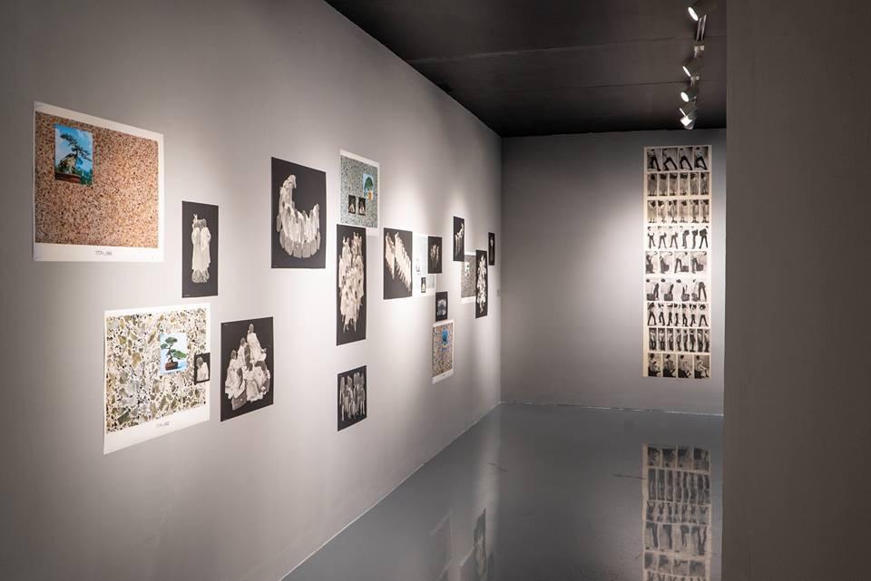 雷磊的展览《周末》在集美·阿尔勒的展场现场(2018)