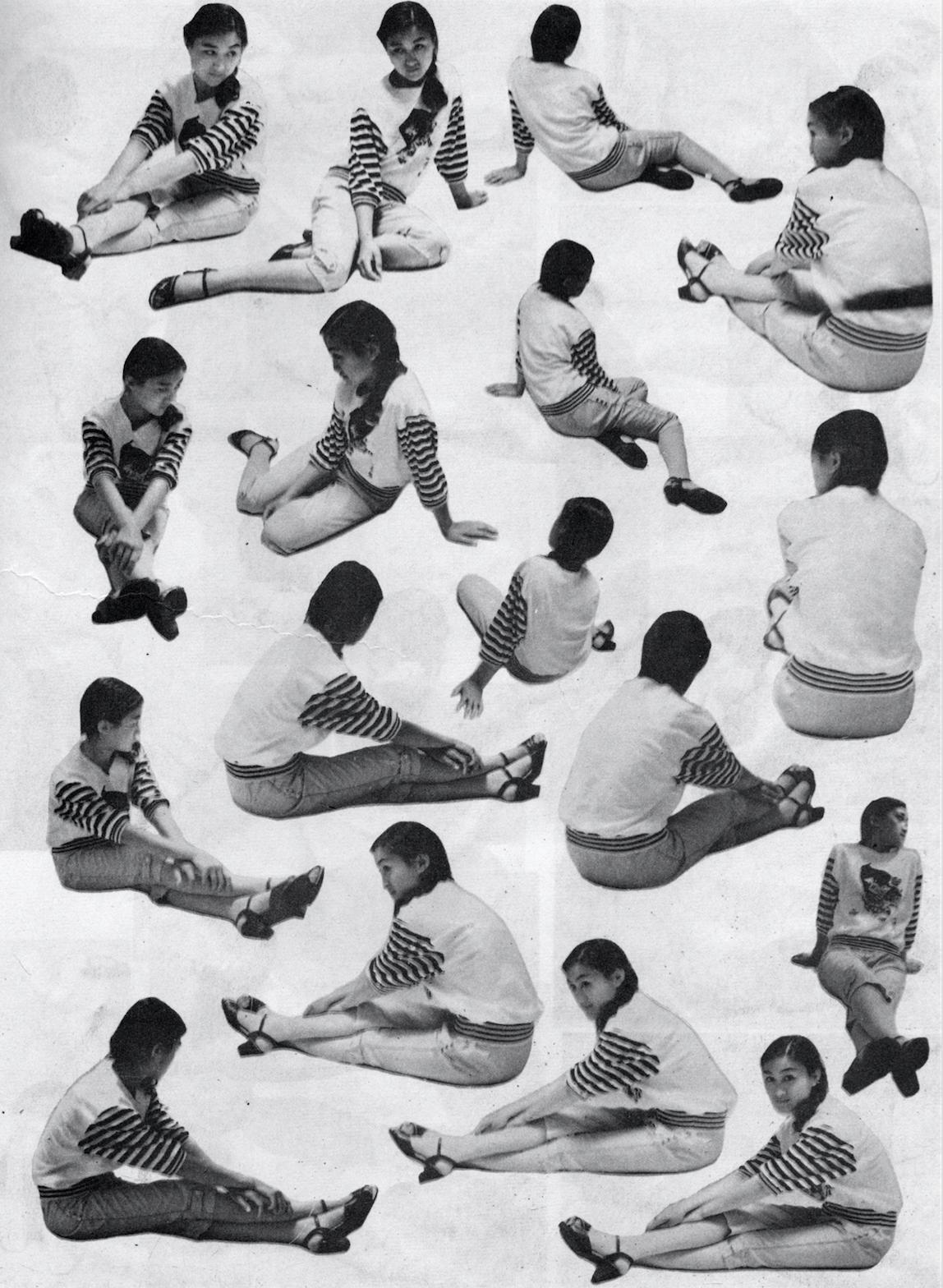 雷磊,《人体动势1700例》,吉林美术出版社,1988年。图片由艺术家提供。