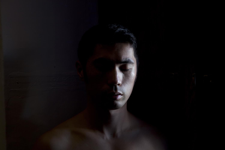 沈玮,《自拍像(库斯科)》,2013年。收藏级喷墨打印。作品由沈玮和Flowers画廊(伦敦/纽约)提供。