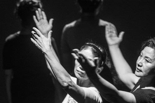 the real, série  Dance Theatre with Dama  (2015)