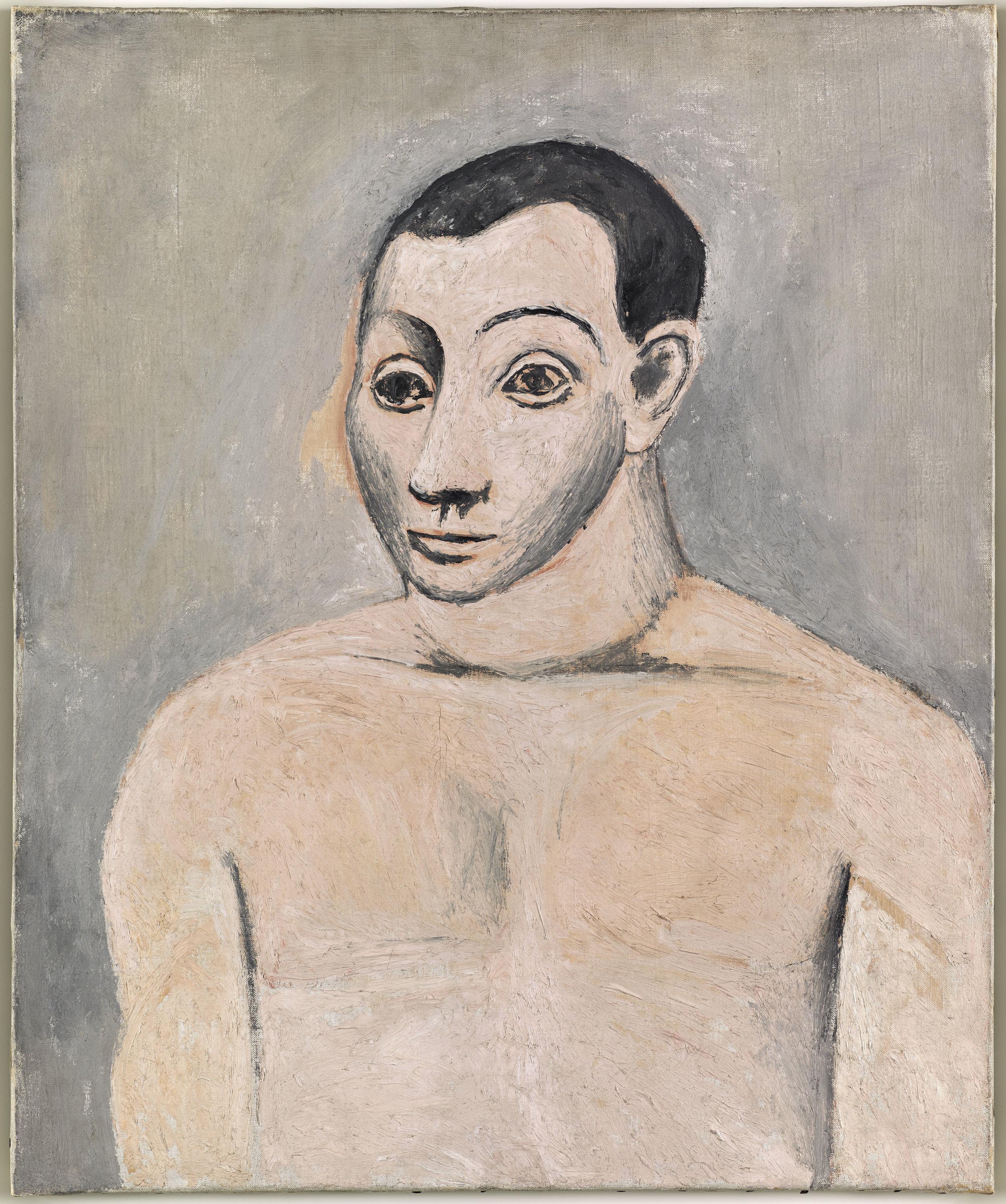 Picasso,  Autoportrait , Paris, Automne 1906 © Succession Picasso 2019