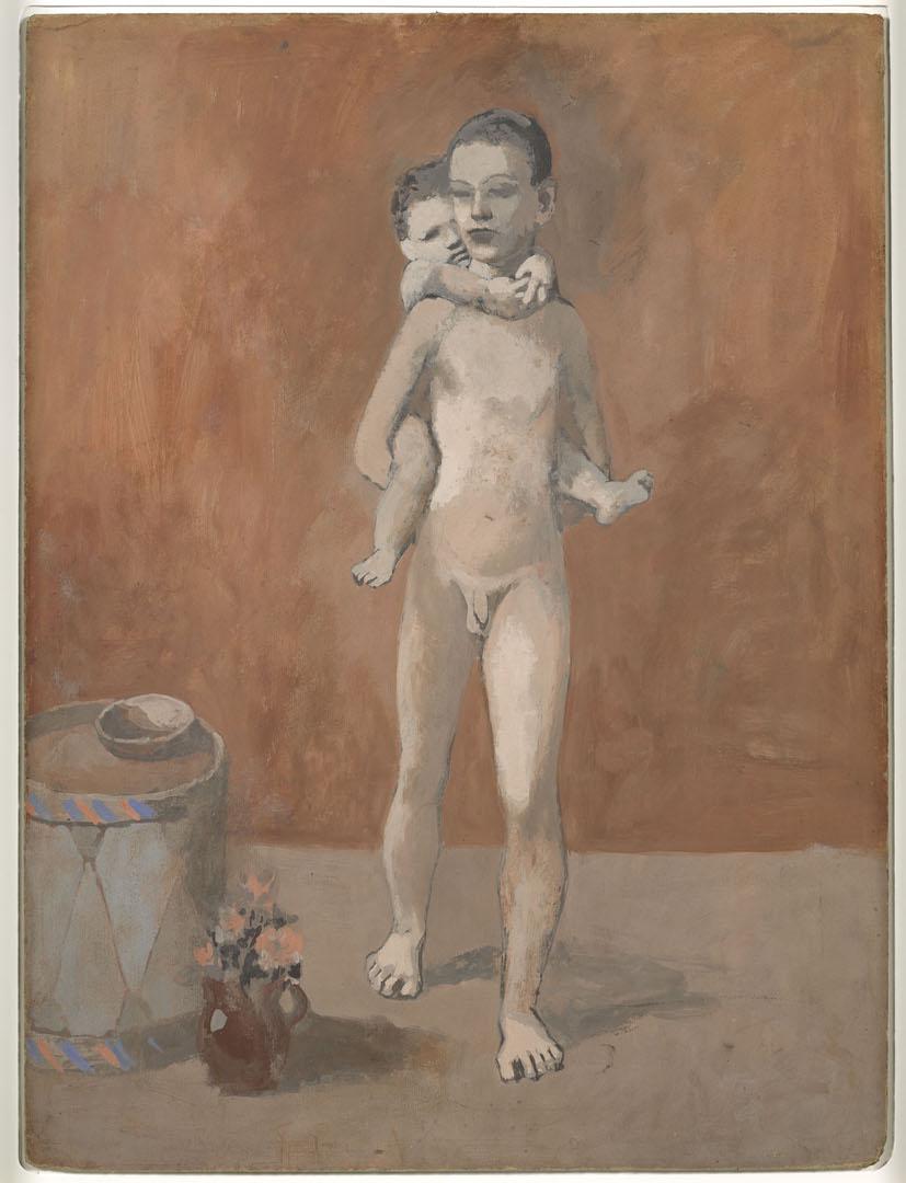 Les Deux Frères , Gosol, été 1906. 80 x 59 cm. Musée national Picasso-Paris. © Succession Picasso 2019