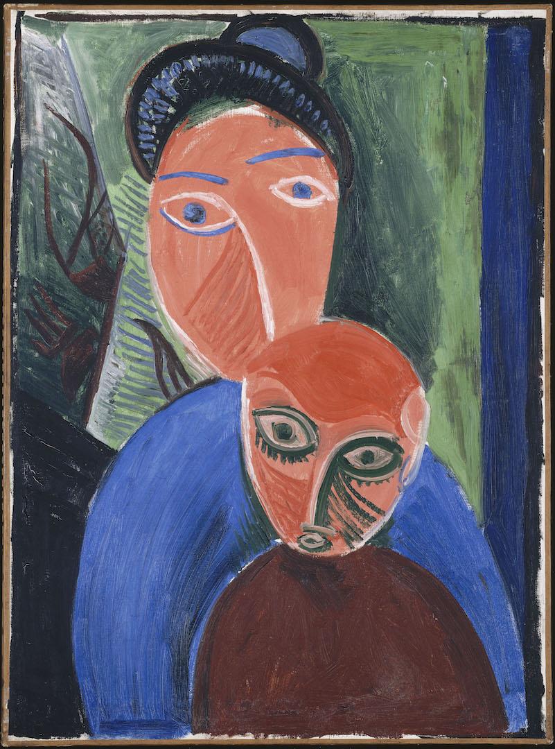 Mère et enfant  Paris, été 1907 Huile sur toile 81 x 60cm Musée national Picasso-Paris © Succession Picasso 2019