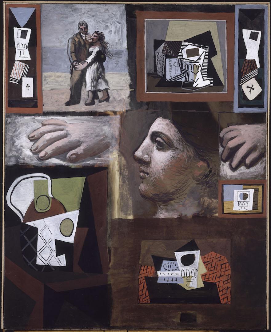 Etudes  1920 Huile sur toile Musée national Picasso-Paris © Succession Picasso 2019