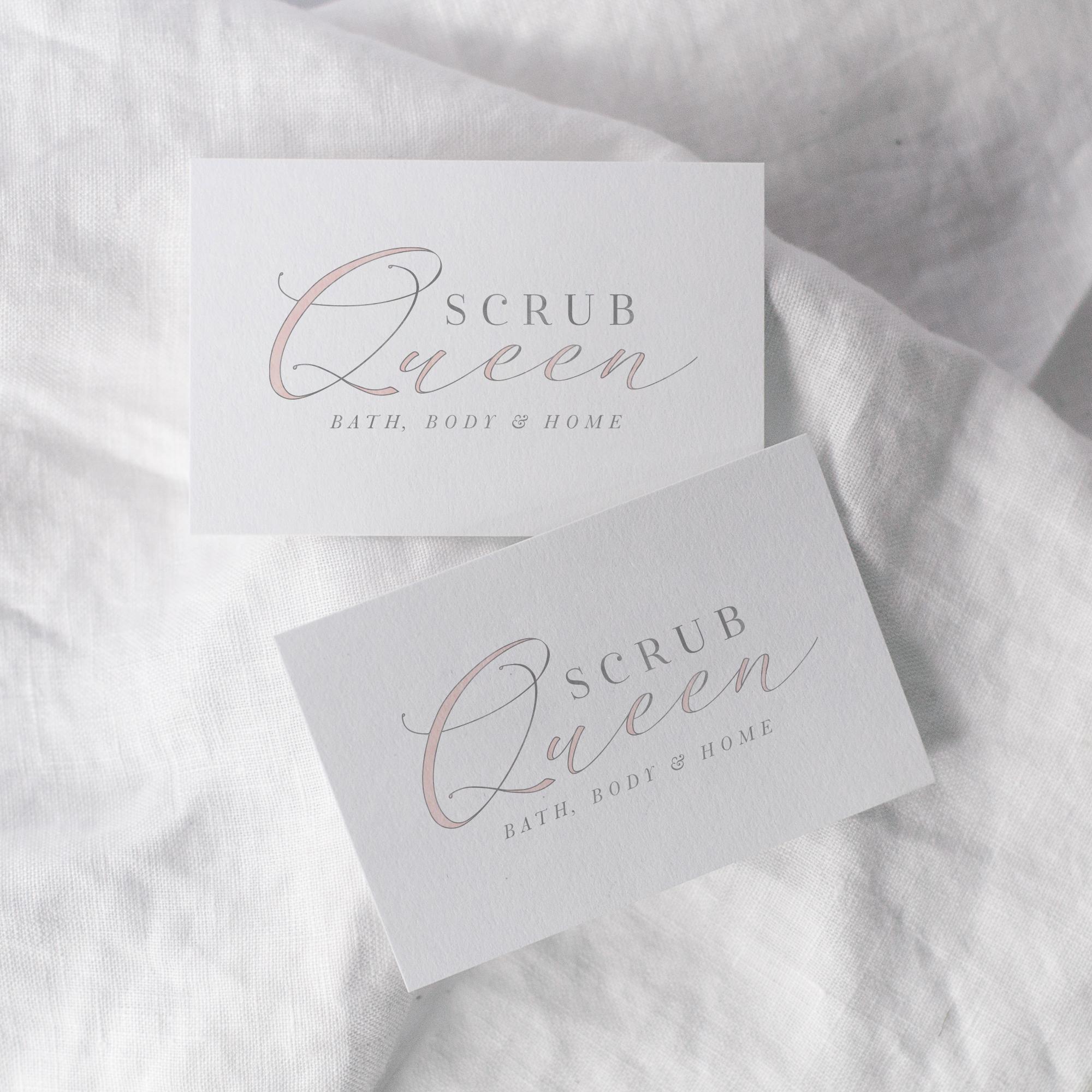 Scrub Queen | Branding